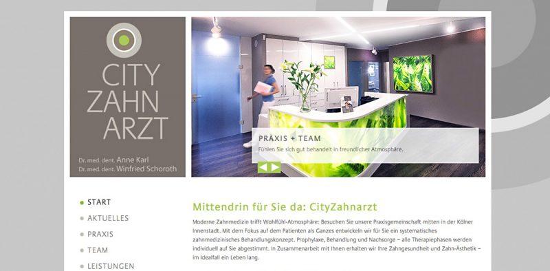 Website - CityZahnarzt