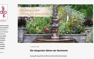 Website - GEDOK Wuppertal